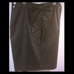 Pencil Skirt w/Bow